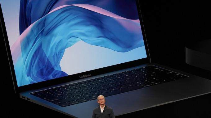蘋果要求撤銷MacBook鍵盤訴訟案 遭美法官駁回(圖片:AFP)