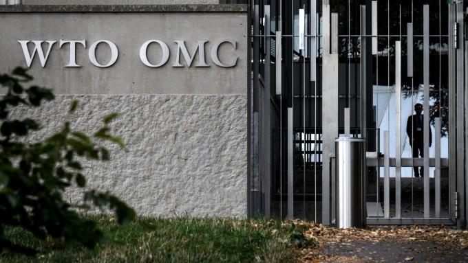 法官人數不足成定局 WTO上訴機構預計下週停擺(圖:AFP)