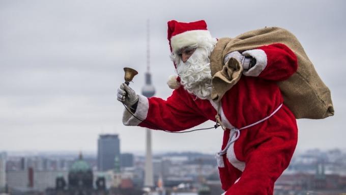 華爾街大多頭:別擔心拋售  這次股市下跌是提前送出的聖誕禮物  (圖:AFP)