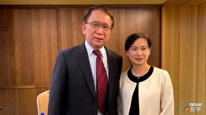 圖左為永昕董事長林榮錦,左為總經理陳佩君。(鉅亨網記者沈筱禎攝)