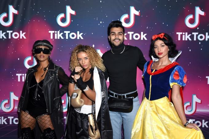 TikTok 在美國廣受青少年們歡迎 (圖片:AFP)