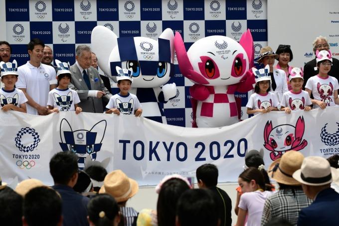 2020 東京奧運即將到來 (圖片:AFP)