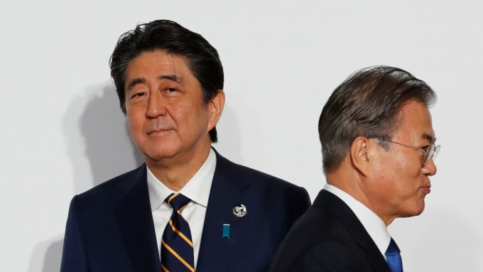 日韓針對出口管制議題 將於16日進行政策對話 (圖片:AFP)