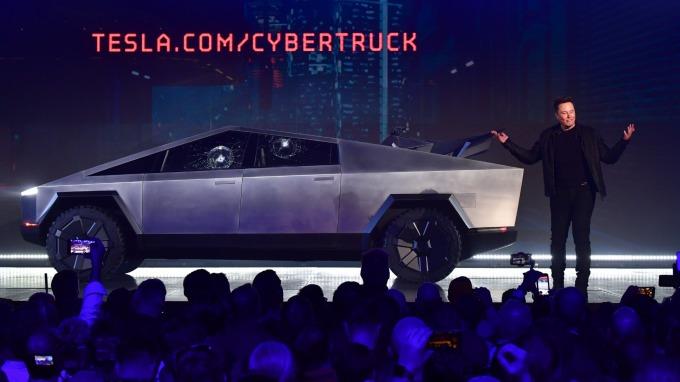 大摩:Cybertruck和中國市場若都取得成功 特斯拉股價恐跳漲50%(圖片:AFP)