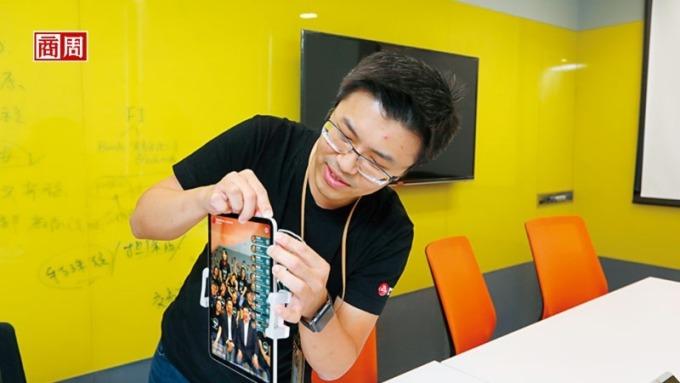 中信團隊研發刷臉技術,搶先在金融科技展用刷臉支付、取餐、領錢讓大家體驗。(圖片:商業周刊)