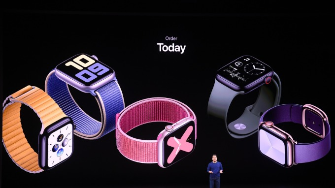 Watch,、AirPods賣得火燙!IDC:蘋果Q3穿戴式設備出貨量成長3倍跳(圖片:AFP)