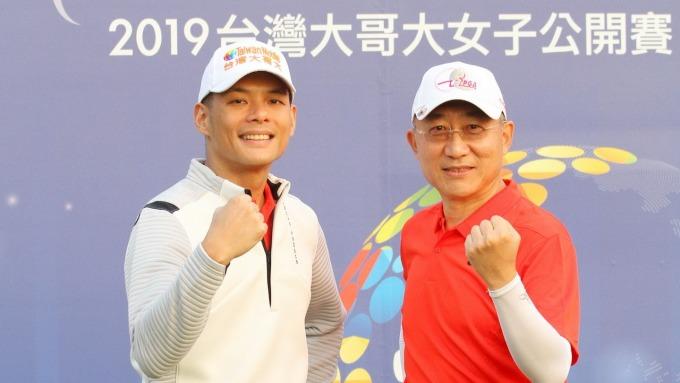左為台灣大總經理林之晨、右為momo總經理谷元宏。(圖:台灣大提供)
