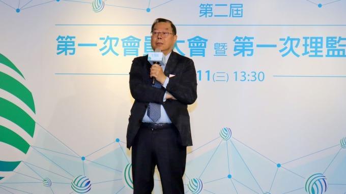 黃崇仁連任TwIoTA理事長。(圖:台灣物聯網產業技術協會提供)