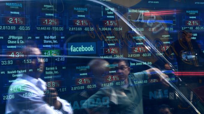 那斯達克集資額達324億美元 為2012年來首度超越紐交所 (圖:AFP)