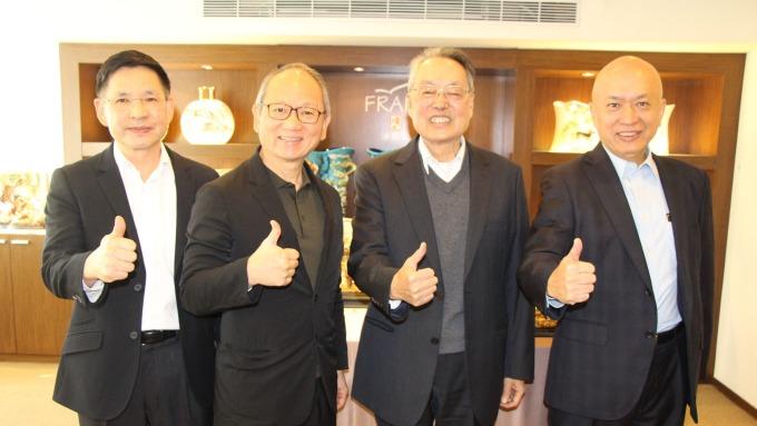 文化科技種子基金成立,宏碁創辦人施振榮任科文双融董事長。(圖:科文双融提供)