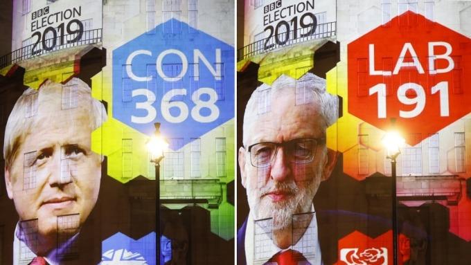 工黨本次大選慘敗 柯賓承諾將辭職 但不會馬上下台(圖:AFP)