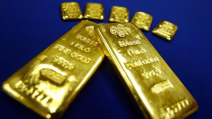 貴金屬盤後—市場還未理出頭緒 地緣政治風險消散 黃金卻反常上漲 (圖片:AFP)