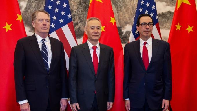 川習不會面!美中計劃明年一月簽署第一階段協議。(圖片:AFP)