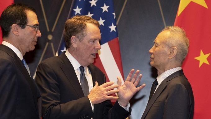 萊特海澤:簽署第一階段協議後 2年內美國對中國出口將翻倍(圖:AFP)