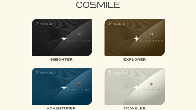 星宇航會員方案「COSMILE」。(圖:星宇提供)