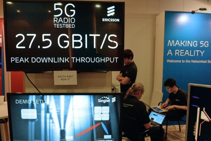 愛立信獲選為 Telenor 的 5G 無線電接取網路 (RAN) 供應商 (圖片:AFP)