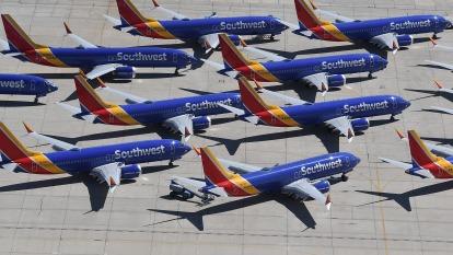 波音737 MAX 明年1月停產 恐削弱美國首季GDP(圖片:AFP)