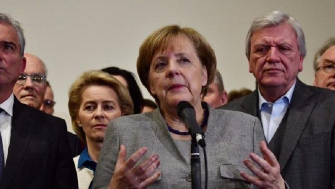 梅克爾重申德國5G建設不會排除特定公司(圖片:AFP)