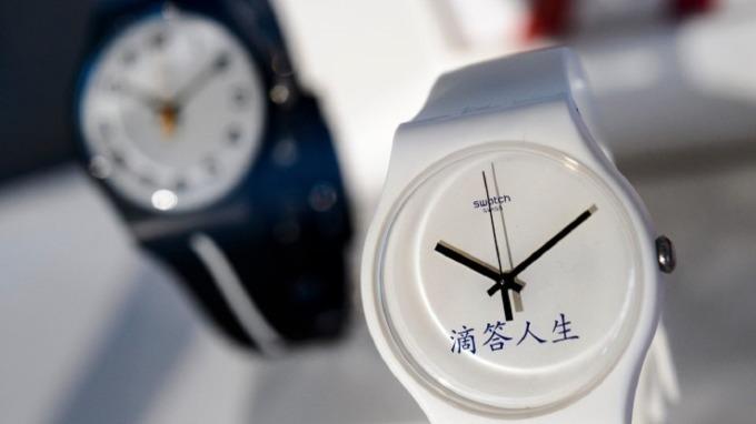 Swatch難敵Apple Watch 瑞士手錶出貨量恐創35年新低  (圖:AFP)