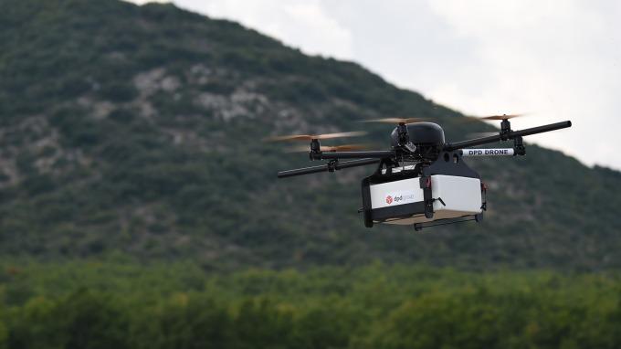 無人機送貨誰是「領頭羊」?Alphabet、UPS估將脫穎而出(圖:AFP)