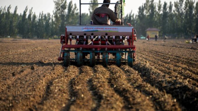 中國農產品採購轉向 歐洲分到羮  (圖片:AFP)