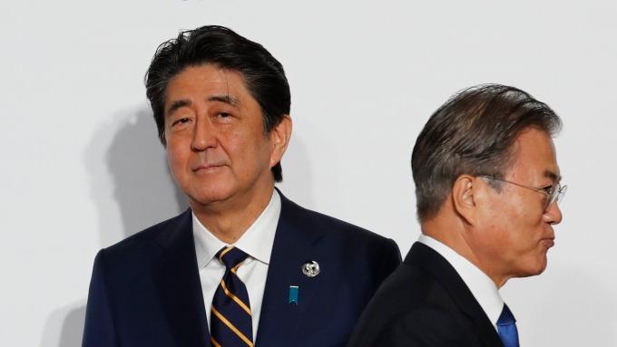 日本全面放寬對韓出口 仍距離遙遠?(圖片:AFP)