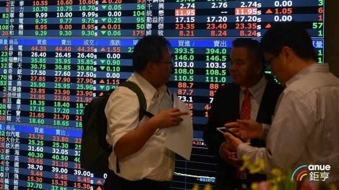 台股盤後-權值股尾盤賣壓湧現 指數摜破萬二收今日最低點。(鉅亨網資料照)