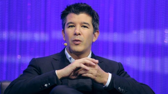 Uber共同創辦人兼前任執行長Travis Kalanick (圖:AFP)