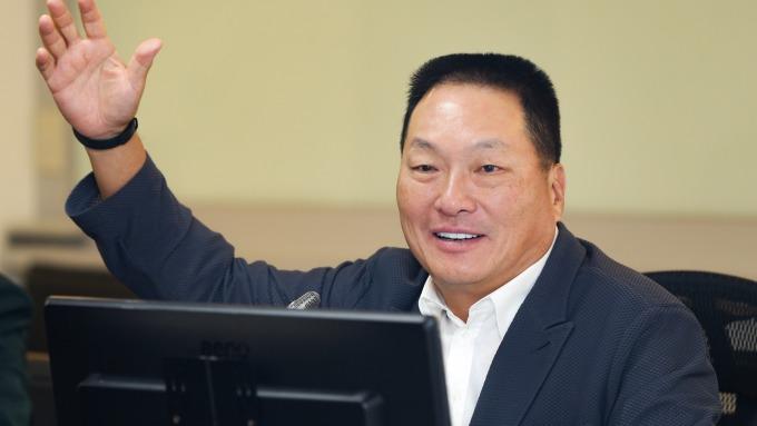 東森集團創辦人王令麟。(圖:東森提供)