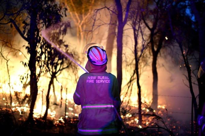 史無前例的毀滅性大火今年重創澳洲 (圖: AFP)