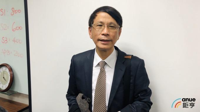 統新總經理藍宏利。(鉅亨網記者魏志豪攝)