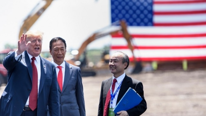 高燦鳴:夏普若買JDI工廠 鴻海威州廠變「白象工程」(圖:AFP)