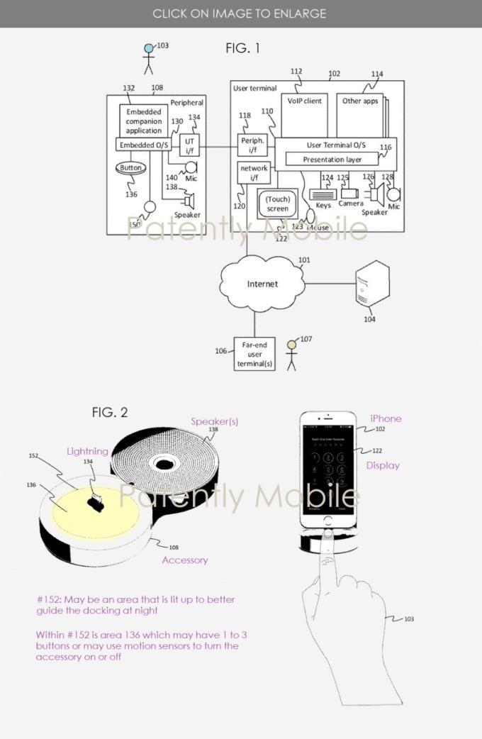 微軟專利示意圖 (圖片: patentlyapple.com)