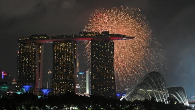 新加坡2019年GDP僅0.7% 寫近10年來最差 (圖:AFP)