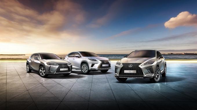 LEXUS全年新車登錄突破2.2萬台,創在台銷量新高紀錄。(圖:和泰車提供)