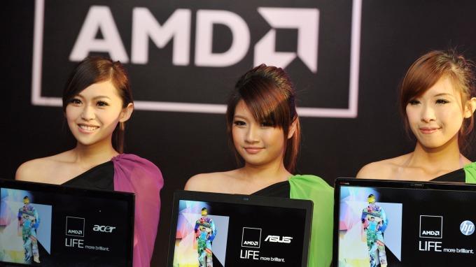 華爾街紛紛上調目標價 AMD 迎來強勁開局暴漲逾7%。(圖片:AFP)
