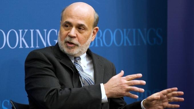 柏南奇:美國經濟若衰退 聯準會仍有許多招式可使。(圖:AFP)