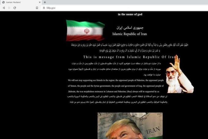 美國聯邦寄存圖書館計劃網站遭親伊網路駭客攻擊。(圖片:FDLP)