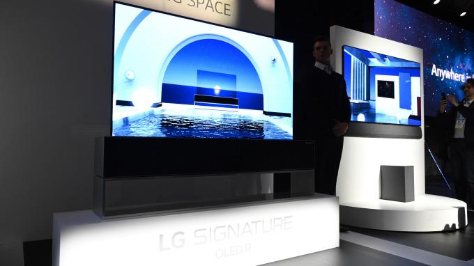 LG計畫於今年推新款智慧電視 將整合Apple TV+應用(圖片:AFP)