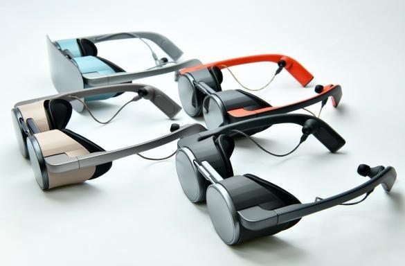 Panasonic 在 CES 2020 展出的 VR 眼鏡 (圖片來源:Panasonic)