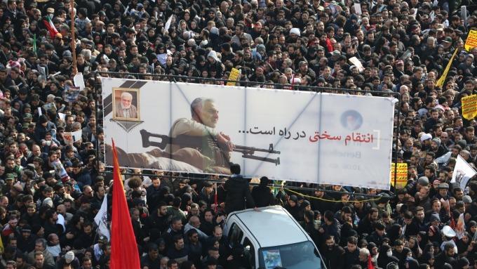 伊朗向美開戰 革命衛隊證實:導彈襲擊美駐伊軍事基地。(圖片:AFP)