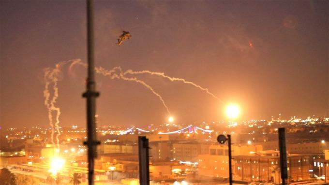美軍駐伊拉克基地遭襲 人民幣貶逾100基點 (圖片:AFP)