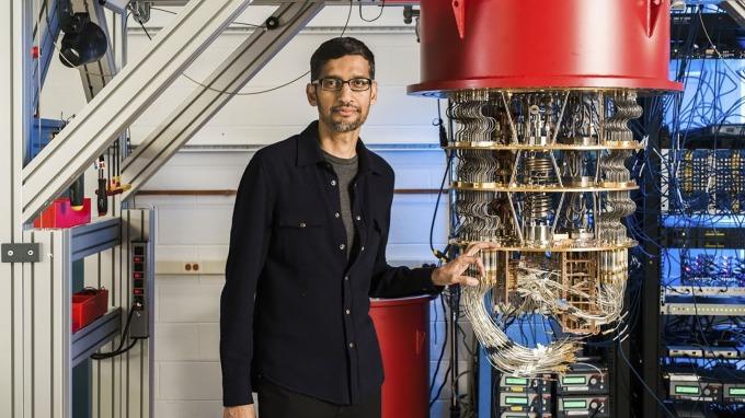 2019 年 10 月 Google 宣布實現「量子霸權」。(圖片:AFP)