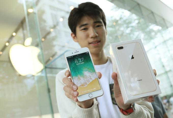 中國數據預告蘋果 2019 年強勁的收尾。(圖片:AFP)