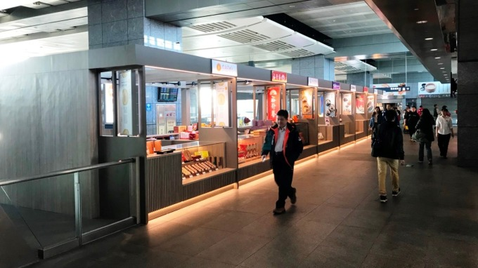 台灣高鐵台中站。(圖:高鐵提供)
