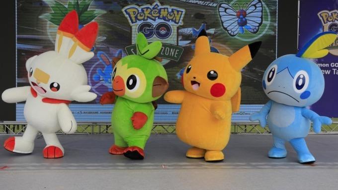 Pokémon Go最豐收一年!2019年玩家大砸8.94億美元 (圖:AFP)