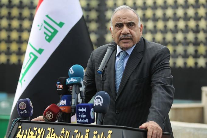 伊拉克代理總理Adel Abdel Mahdi已向美國國務卿蓬佩奧提出撤軍要求(圖片:AFP)