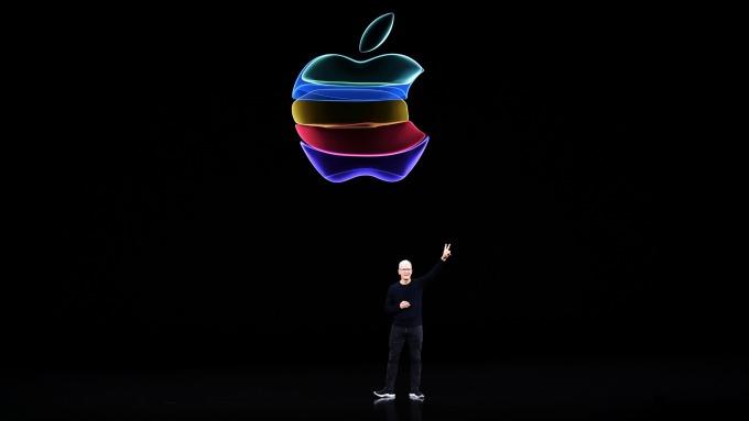 若本益比與同儕看齊 蘋果還有50%上漲空間  (圖:AFP)