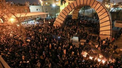 伊朗承認誤擊客機後 引發國內抗議及國際譴責(圖:AFP)