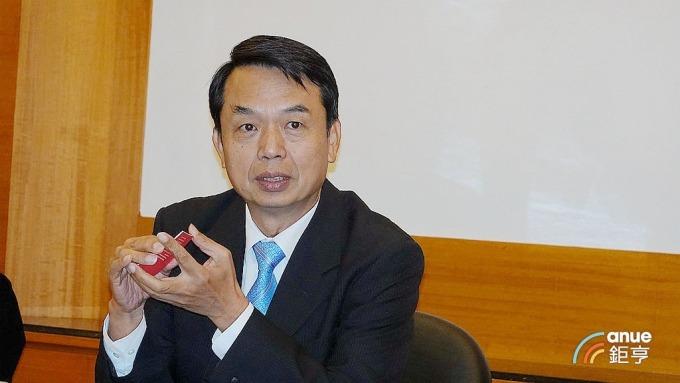 光群雷董事長郭維武。(鉅亨網記者張欽發攝)